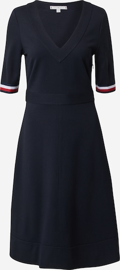 TOMMY HILFIGER Šaty 'PUNTO MILANO' - tmavomodrá / červená / biela, Produkt