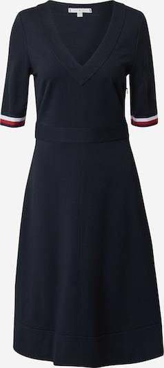 TOMMY HILFIGER Jurk 'PUNTO MILANO' in de kleur Donkerblauw / Rood / Wit, Productweergave