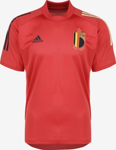 ADIDAS PERFORMANCE Trainingsshirt 'RBFA Belgien EM 2020' in rot, Produktansicht