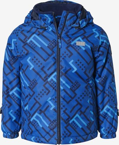 LEGO WEAR Skijacke in blau / hellblau: Frontalansicht