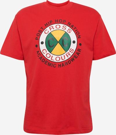 CROSS COLOURS Shirt 'Academic' in rot, Produktansicht