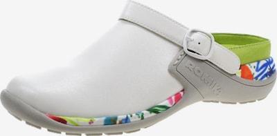 ROMIKA Pantoletten in mischfarben / weiß, Produktansicht