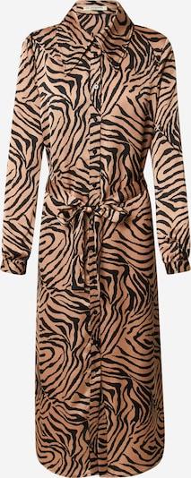 Love Copenhagen Blusenkleid 'Zeb' in hellbraun / schwarz, Produktansicht