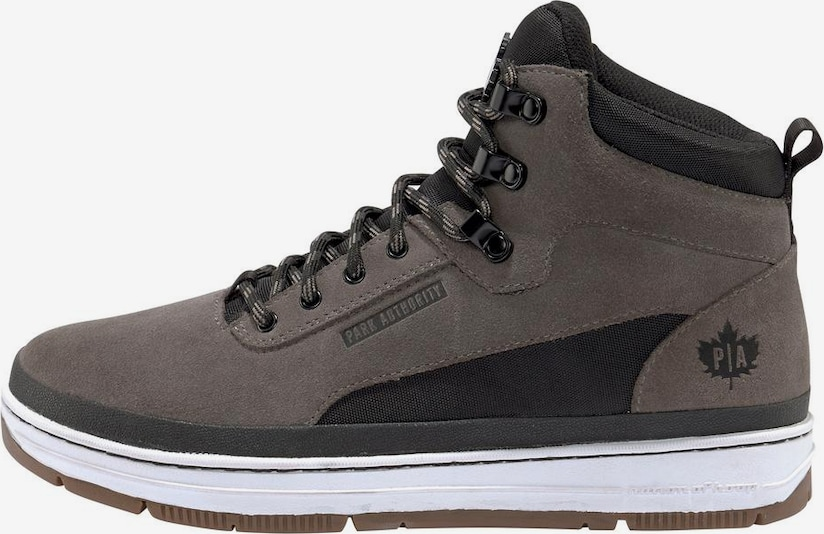 PARK AUTHORITY by K1X Sneaker 'GK 3000' in taupe / schwarz, Produktansicht