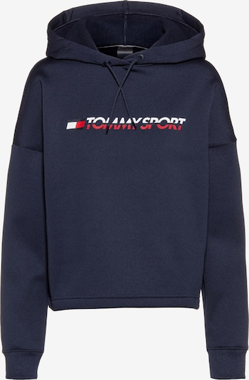 Tommy Sport Hoodie in nachtblau, Produktansicht