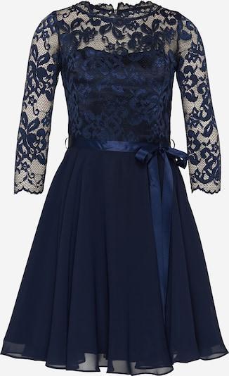 SWING Koktejlové šaty - námořnická modř: Pohled zepředu