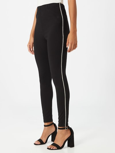 ABOUT YOU Leggings 'Fabiola' in schwarz, Modelansicht