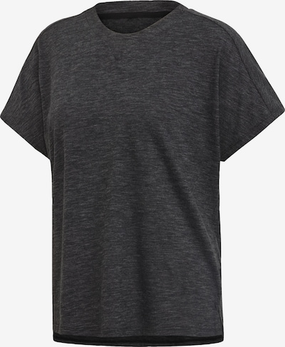 ADIDAS PERFORMANCE T-Shirt 'W ID Winn Attetude' in dunkelgrau, Produktansicht