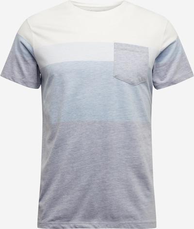 Redefined Rebel Majica 'Dexter'   kremna / svetlo modra barva, Prikaz izdelka