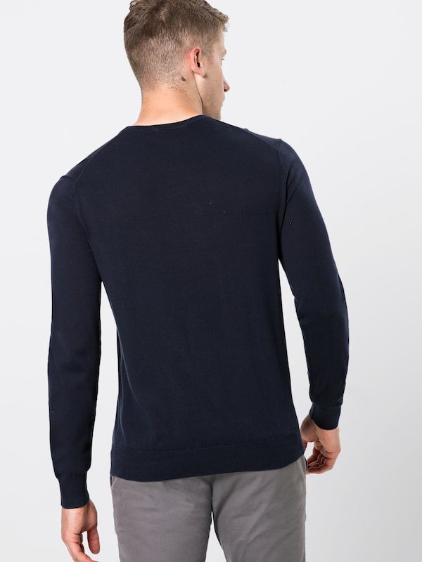 POLO RALPH LAUREN Pullover 'LS SF CN PP-LONG SLEEVE-SWEATER' in navy: Rückansicht
