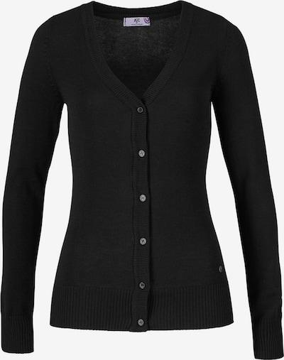 FLASHLIGHTS Strickjacke in schwarz, Produktansicht