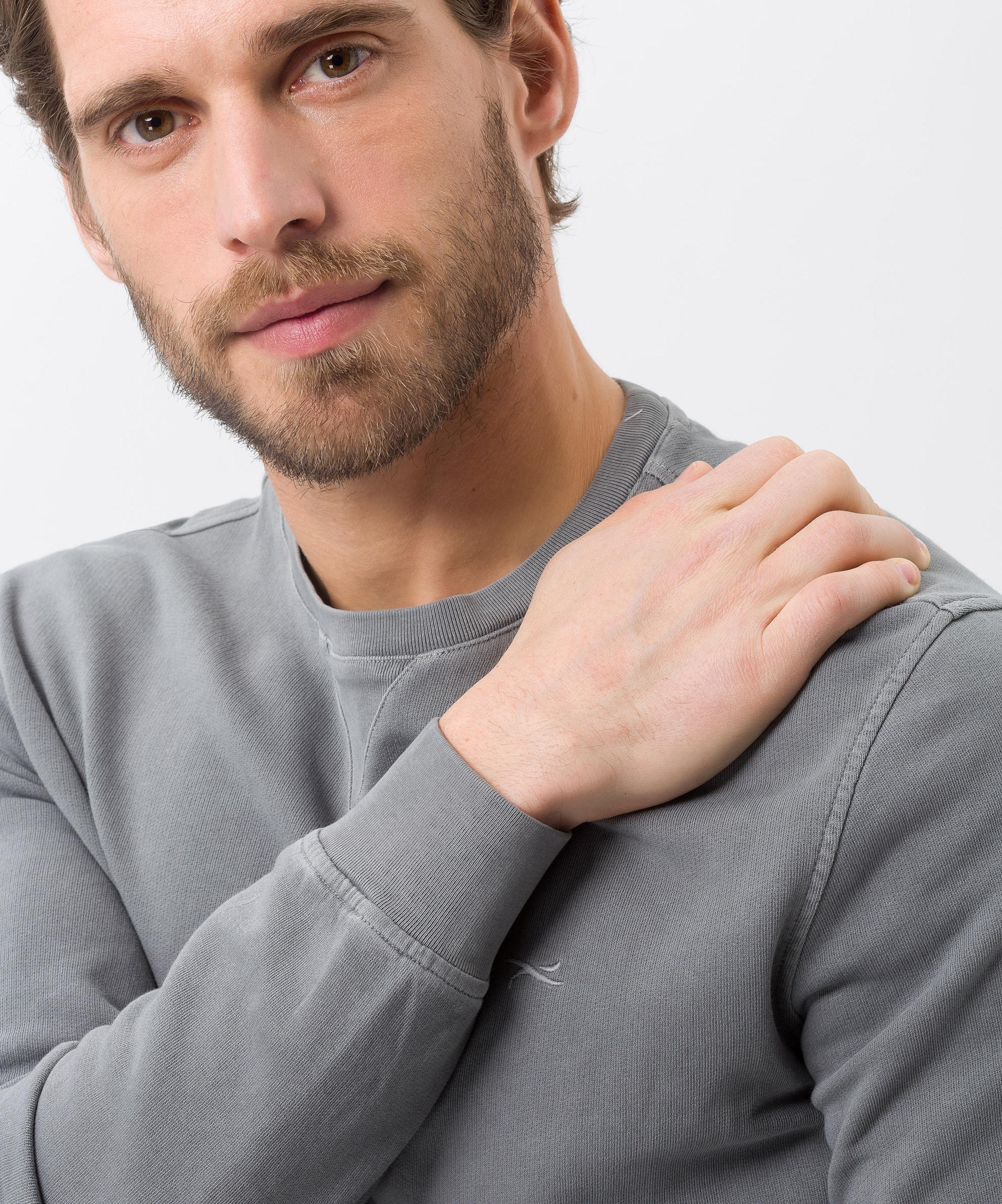 In Brax Sweatshirt Grau Grau Brax 'sawyer' Brax In Sweatshirt 'sawyer' Sweatshirt ZOTPuXwki