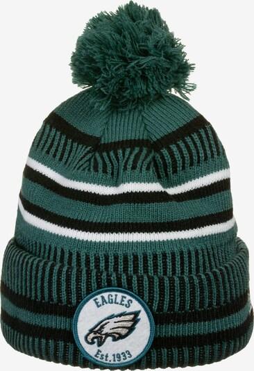 NEW ERA Mütze 'NFL Philadelphia Eagles' in dunkelgrün / schwarz / weiß, Produktansicht