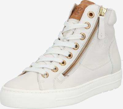 Paul Green Sneaker in karamell / weiß: Frontalansicht