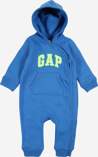 GAP Jumpsuit 'V-B LOGO FLC 1PC' in blau, Produktansicht
