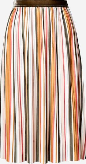 ONLY Spódnica 'NEW KINSLEY' w kolorze beżowy / żółty / zielonym: Widok z przodu