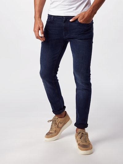 JACK & JONES Jeans 'Liam Original AGI 004' in dunkelblau, Modelansicht