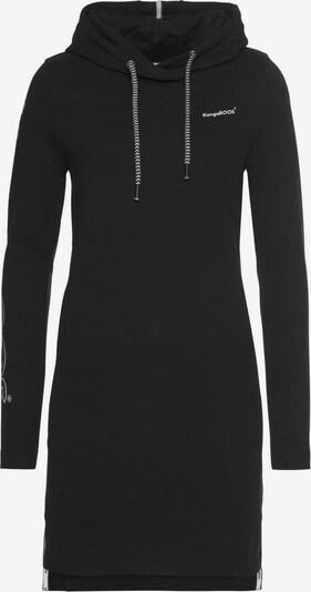 KangaROOS Sweatkleid in schwarz, Produktansicht