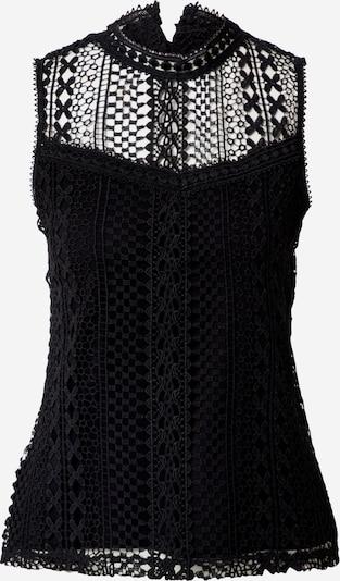 Dorothy Perkins Blusentop 'BLACK GEO LACE SHELL' in schwarz, Produktansicht