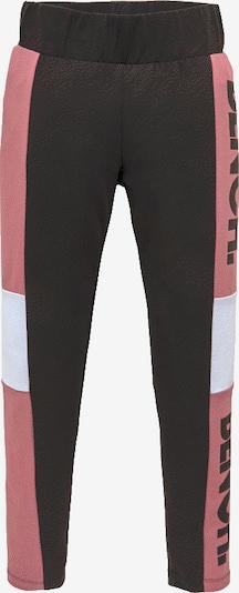 BENCH Leggings in altrosa / schwarz / weiß, Produktansicht