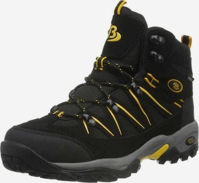 Brütting Boots in de kleur Geel / Zwart, Productweergave