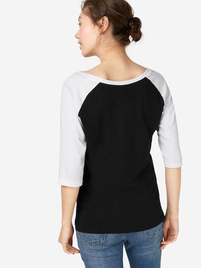 Urban Classics Shirt in schwarz / weiß: Rückansicht