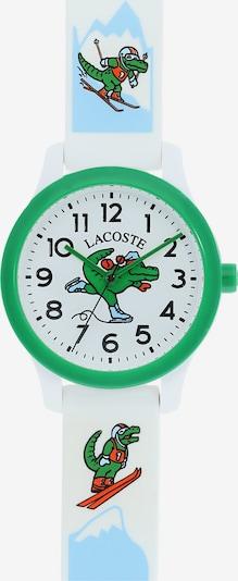 LACOSTE Horloge '12.12 Holiday Capsule' in de kleur Lichtblauw / Groen / Wit, Productweergave
