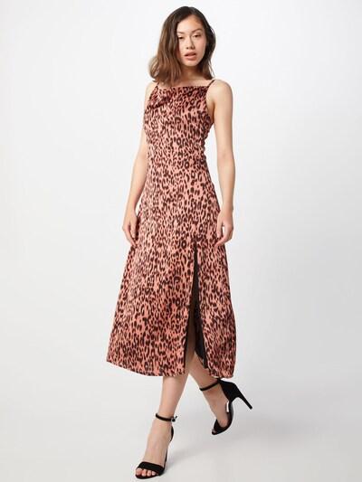 GLAMOROUS Kleid 'LADIES DRESS' in pink / schwarz, Modelansicht