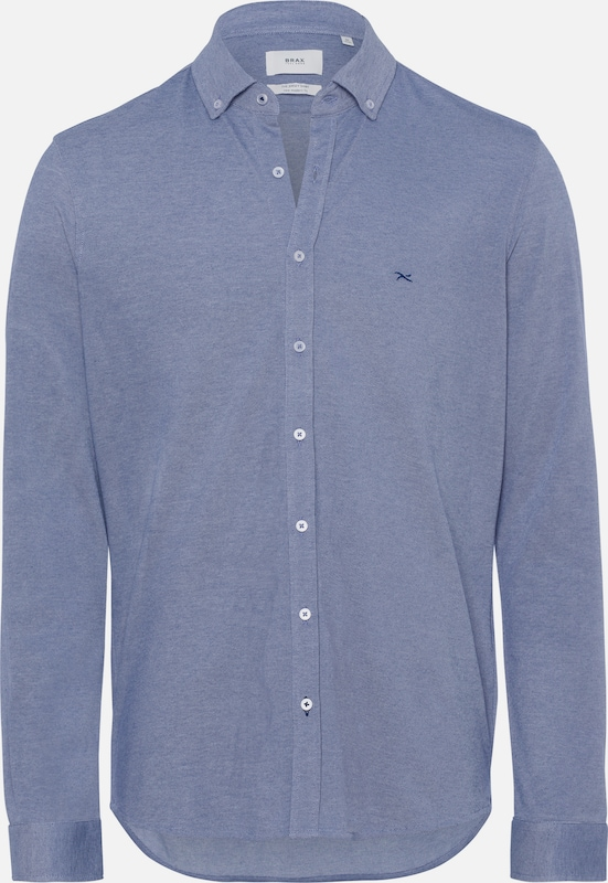 BRAX Hemd 'Dave' in blau  Mode neue Kleidung