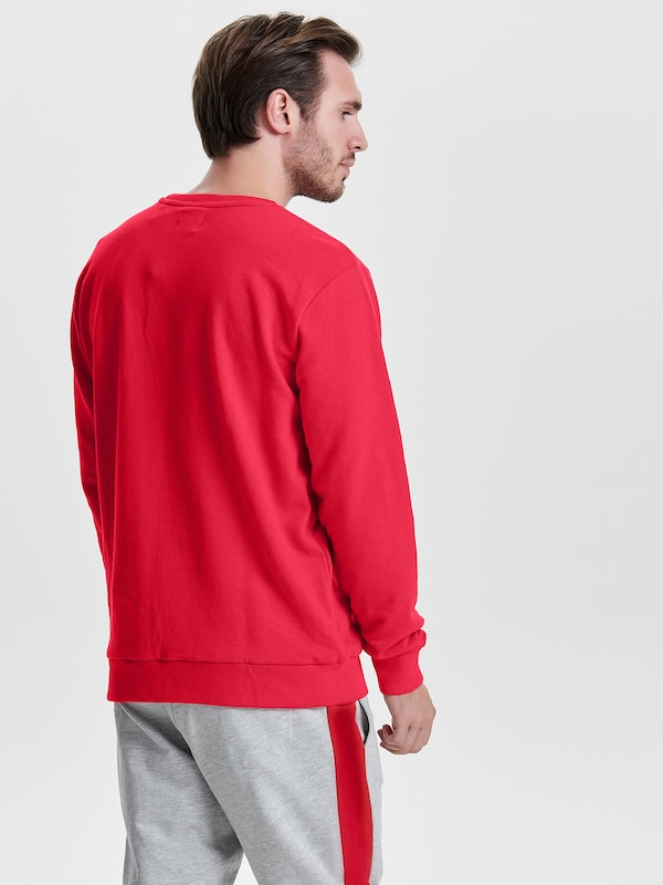 Only & Sons Solid Sweatshirt