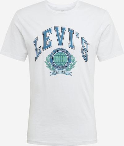 LEVI'S T-Shirt en bleu / blanc, Vue avec produit