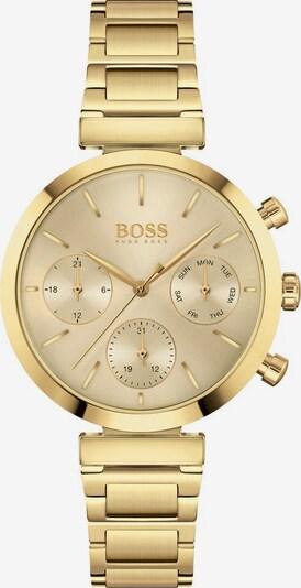 BOSS Analoguhr 'Flawless' in gold, Produktansicht