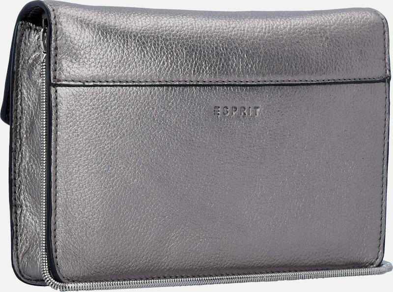 Esprit Real Clutch Leder Pockets 20 Cm