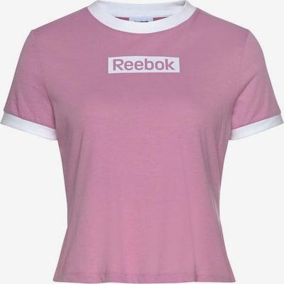 REEBOK T-Shirt in rosa / weiß, Produktansicht