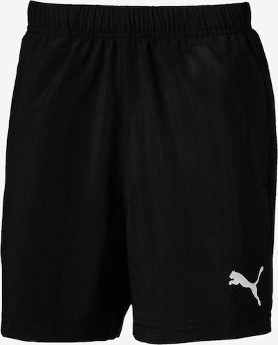 PUMA Sportovní kalhoty - černá / bílá, Produkt