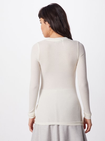 BRUUNS BAZAAR Koszulka 'Angela' w kolorze białym: Widok od tyłu