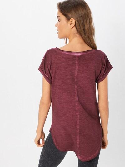 Urban Classics Shirt in burgunder: Rückansicht