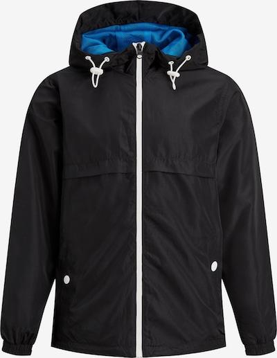 Produkt Junior Wind Jacke in blau / schwarz, Produktansicht