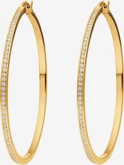 JETTE Creole in gold / weiß, Produktansicht