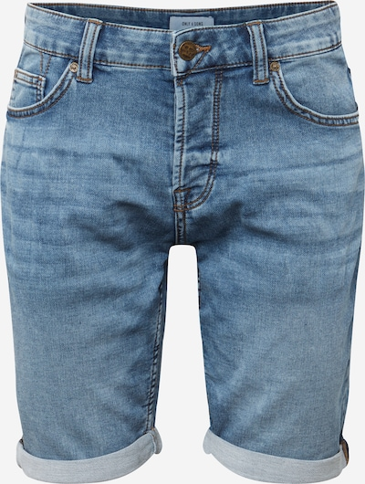 Only & Sons Shorts in blue denim, Produktansicht