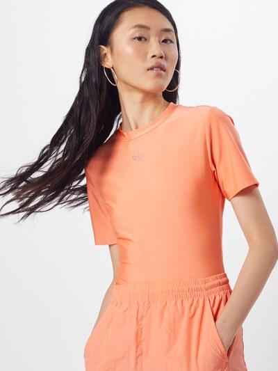 ADIDAS ORIGINALS Bodyshirt in apricot: Frontalansicht