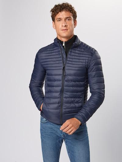 INDICODE JEANS Prehodna jakna 'Amare' | mornarska barva: Frontalni pogled