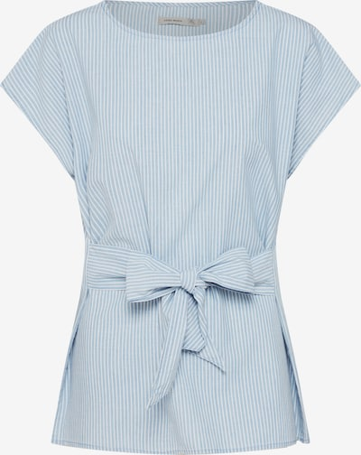 VERO MODA Bluse 'Miley' in blue denim / weiß, Produktansicht