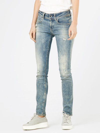 G-Star RAW Jeans 'Midge Saddle' in de kleur Blauw, Modelweergave