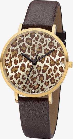 REGENT Uhr 'BA-657 3225.75.23' in braun, Produktansicht
