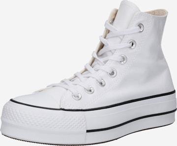 CONVERSE Členkové tenisky - biela