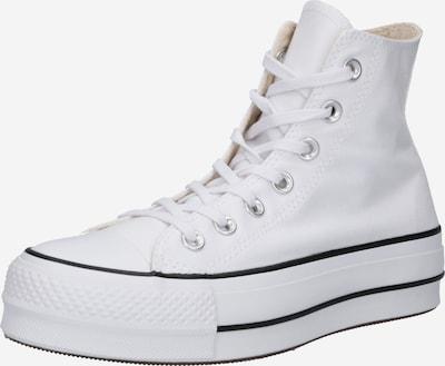Sneaker înalt 'Chuck Taylor All Star Lift' CONVERSE pe negru / alb, Vizualizare produs