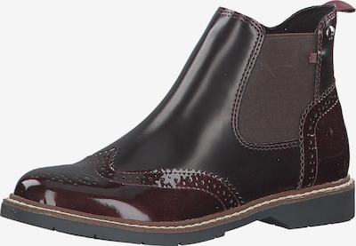 s.Oliver Chelsea Boots in burgunder, Produktansicht
