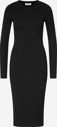 EDITED Robes en maille 'Hennie' en noir, Vue avec produit
