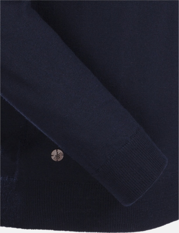 ' Jacques Britt Nachtblau Slim Pullover Fit pEUw1Zq